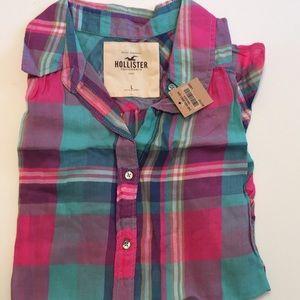 Hollister brand shirt Top NWT size L